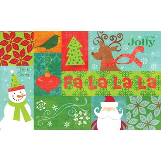 Indoor Falalalala Kitchen Mat (18 x 30)