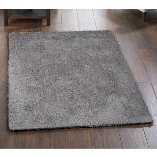 Palo Alto Grey Shag Rug (7'6 x 9'6)