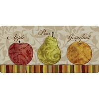 Indoor Fruit Of Season Kitchen Mat (20 x 42)