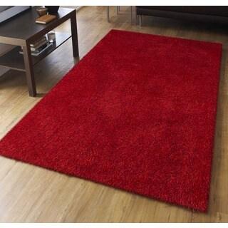 Palo Alto Red Shag Rug (7'6 x 9'6)