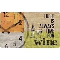 Indoor Always Wine Kitchen Mat (18 x 30)