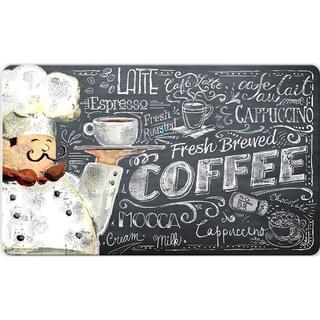 Indoor Coffee Chef Kitchen Mat (18 x 30)