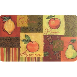 Indoor Fruit Collage Kitchen Mat (18 x 30)