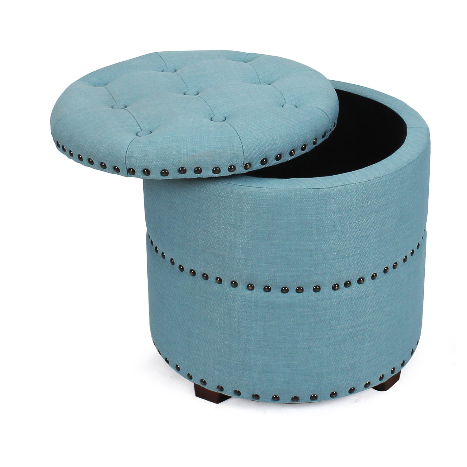 Surprising Details About Adeco Fabric Round Storage Ottoman Caraccident5 Cool Chair Designs And Ideas Caraccident5Info