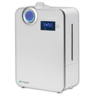 PureGuardian® H7550 1.32-Gallon 90-Hour Elite Ultrasonic Warm and Cool Mist Humidifier with Digital Smart Mist Sensor