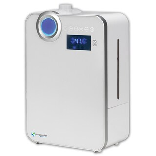 PureGuardian H7550 100 hr. Ultrasonic Warm Mist and Ultrasonic Cool Mist Humidifier with Digital Smart Mist Sensor