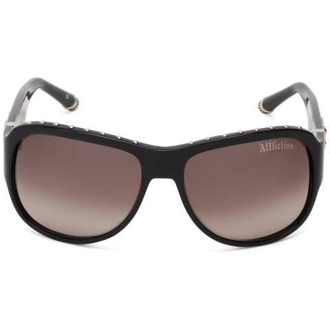 Affliction Unisex Raven Designer Sunglasses - S