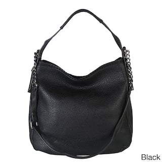 Diophy Chain Shoulder Strap Hobo Style Handbag