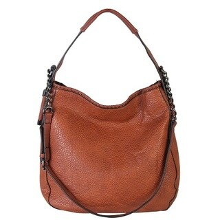 Diophy Chain Shoulder Strap Hobo Style Handbag