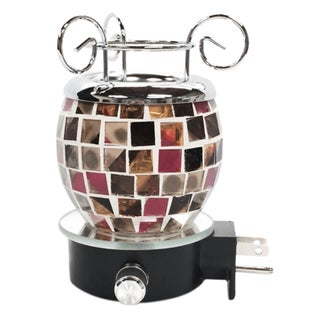 Electric Oil Warmer with Glass Plug-in Night Light