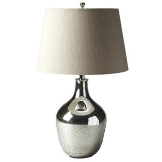 Butler Mercury Antique Nickel Table Lamp