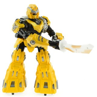 CIS-3888-1Y 9-inch Yellow Sword Robot (Option: Yellow)