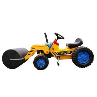 Big Kids Ride-on Loader Roller