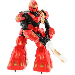 "CIS-3888-1R 9"" Red Sword Robot"