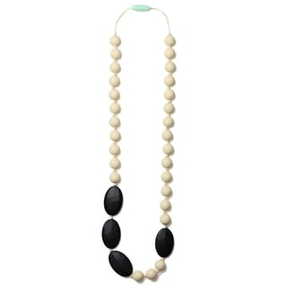 Mama & Little Rachel Silicone Baby Teething Necklace for Moms - Nursing Necklace - Teething Beads and Baby Teething Toys