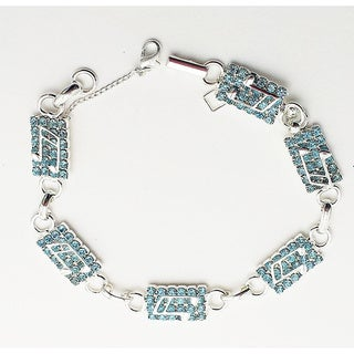 Deti Originals Light Blue Crystal Bracelet