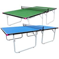 Butterfly Compact 19 Table Tennis Table with Net Set - 3 Year Warranty - Fully Assembled - Easy Storage