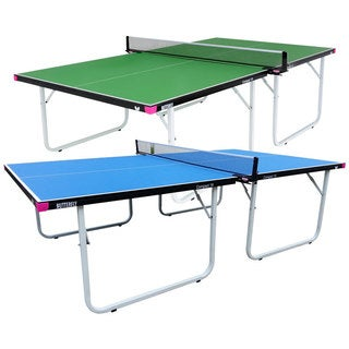 Butterfly Compact 19 Table Tennis Table with Net Set - 3 Year Warranty - Fully Assembled - Easy Storage (2 options available)