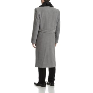 Blu Martini Men's Wool Top Coat