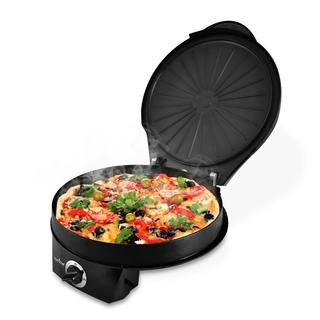 NutriChef PKPZM12 Black Electric Pizza Maker/Pizza Oven