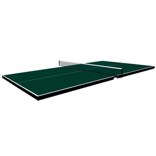 Martin Kilpatrick Conversion Table Tennis Top - Ping Pong Table for Pool Table - 3 Year Warranty - Net Set - Foam Pads (3 options available)