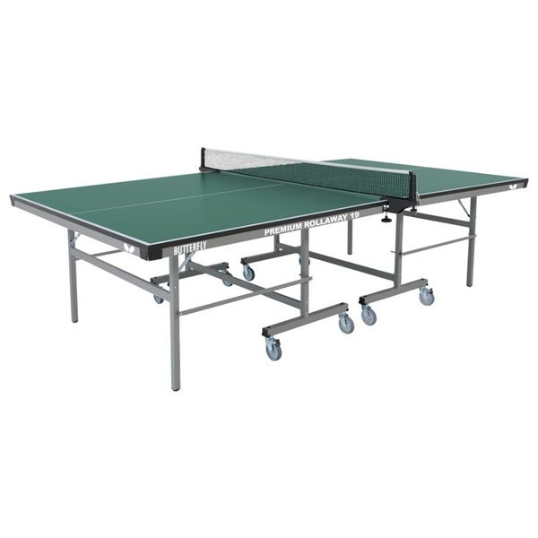 Butterfly Premium 19 Rollaway Table Tennis Table with Net Set - 3 Year Warranty - Made  sc 1 st  Overstock.com & Butterfly Premium 19 Rollaway Table Tennis Table with Net Set - 3 ...