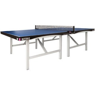 Butterfly Europa 25 ITTF Approved 1-inch Top Stationary Professional Table Tennis Table -
