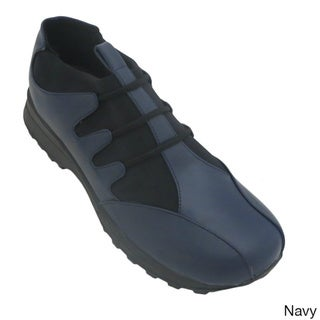 Comfort by Madness Women's Athletic Walking Laced Sneakers Blue