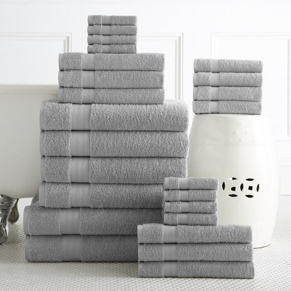 Bath Towels Sale: Shop 100-percent Plush Cotton 24-piece Economic Bath Towel
