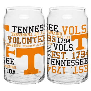 Tennessee Volunteers 16-ounce Spirit Glass Set