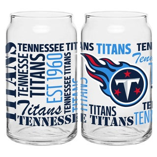 Tennessee Titans 16-Ounce Glass Spirit Glass Set