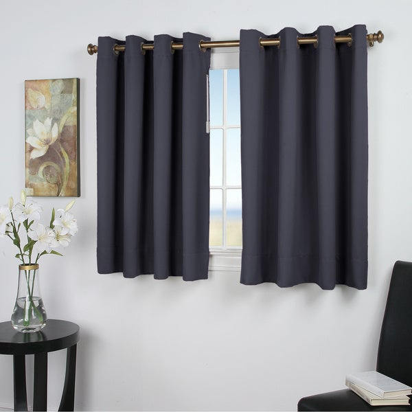 Ultimate Blackout 45-inch Short Length Grommet Curtain Panel. Opens flyout.