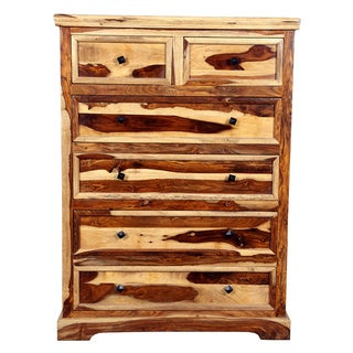 Porter Taos Solid Sustainable Sheesham 6-drawer Chest (India)