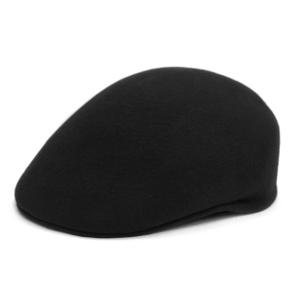 1d7f00c4338c3 Shop Ferrecci Men s Premium Wool English Flat Newsboy Hat - Free ...