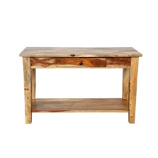 Porter Taos Solid Sustainable Sheesham Sofa Table (India)