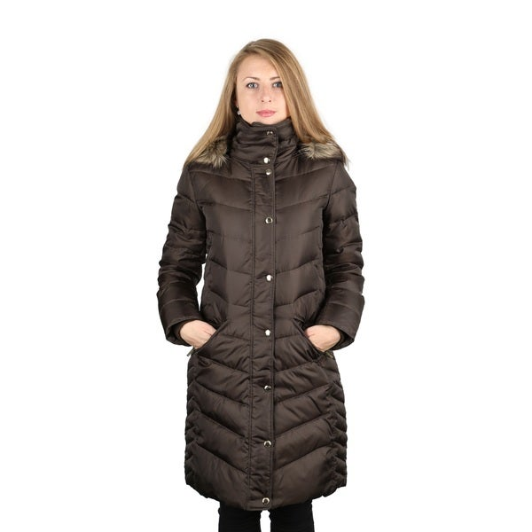 Brown Puffer Coat