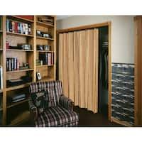 Spectrum Woodshire Light Oak Folding Door (48x80)
