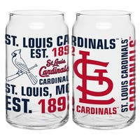 St. Louis Cardinals 16-Ounce Glass Spirit Glass Set