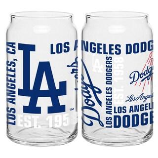 Los Angeles Dodgers 16-Ounce Glass Spirit Glass Set