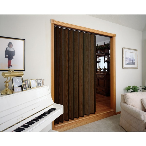 Spectrum Woodshire Walnut Folding Door (48x96) - Free Shipping Today ...