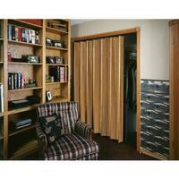 Spectrum Woodshire Dark Oak Folding Door (36x96)