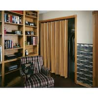 Spectrum Woodshire Dark Oak Folding Door (48x96)
