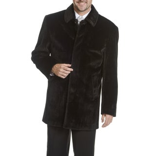 Blu Martini Men's Faux Fur Coat