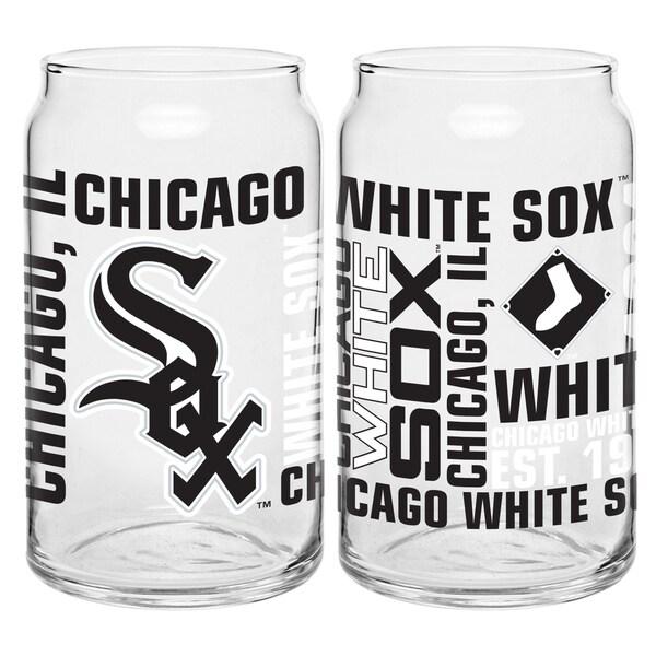 Chicago White Sox 16-Ounce Glass Spirit Glass Set