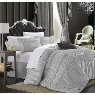 Chic Home Romano Silver 5-piece Comforter Set