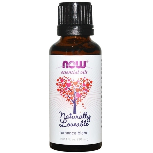 Now Foods Naturally Loveable Romance 1-ounce Essential Oil Blend. Opens flyout.