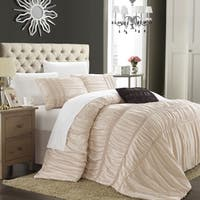 Chic Home Romano Taupe 5-piece Comforter Set