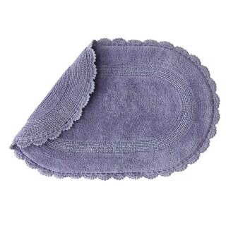 Jessica Simpson Carlin Reversible Bath Rug (21 x 34). (Option: Purple)