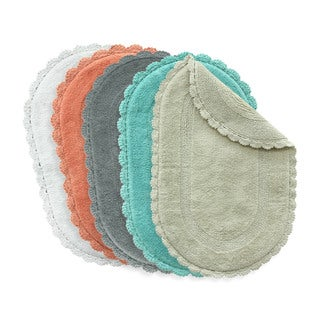 Jessica Simpson Carlin Reversible Bath Rug (21 x 34).