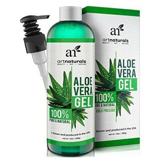 artnaturals Aloe Vera Gel for Face Hair and Body